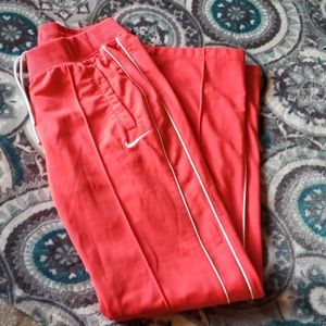Nike Mens Training Pants Scarlet Red
